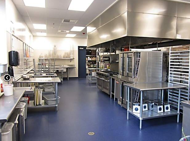 The Culinary Arts kitchen at NTHS.