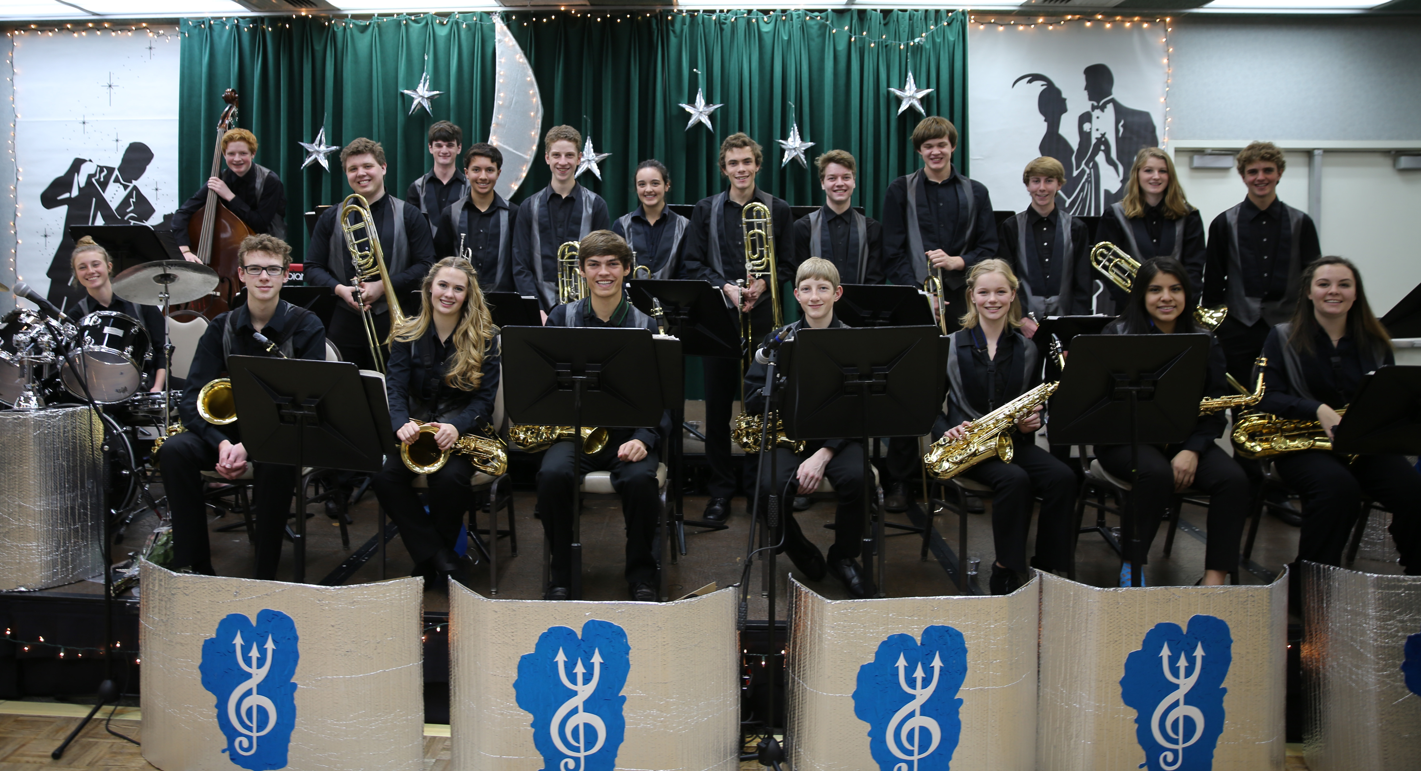 The NTHS Jazz Band
