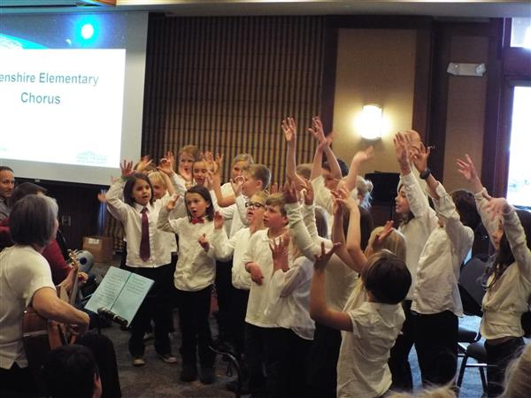 Image of Glenshire Chorus performing at last year's event