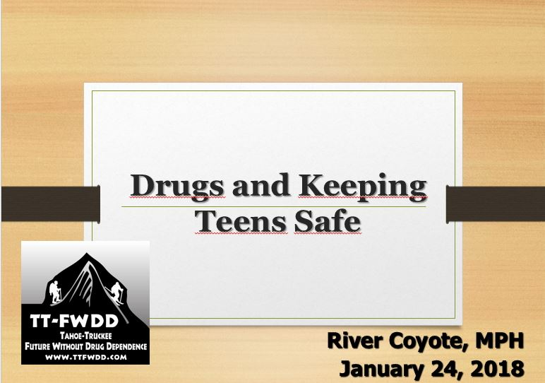 Drugs & Keeping Teens Safe