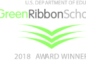 Green Ribbons Schools Award Winner logo 2018