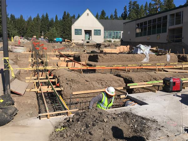 Image of Measure E funded project (Tahoe Lake Elementary)