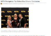 National School Transportation Association Recognizes Top School Bus Drivers, Contractors