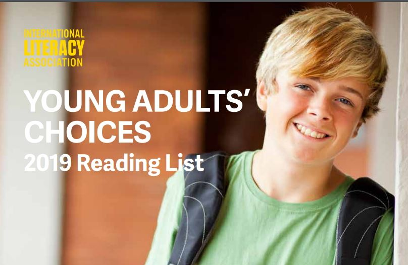 Image of the cover of the Young Adults' Choices 2019 reading list
