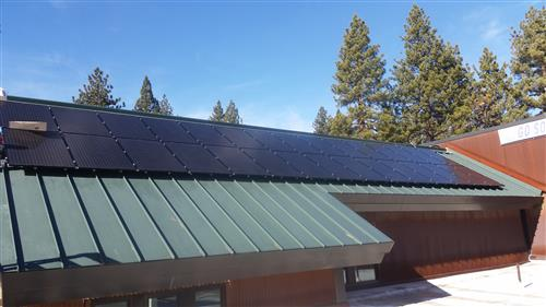 New Solar Panels at Kings Beach Elementary